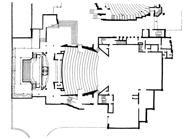 Baxter Theatre (addition)  |  Plan