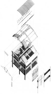 Florida and Kyalami Offices  |  Exploded Axonometric