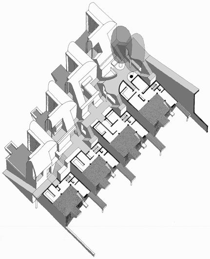 Goa Housing  |  Axonometric