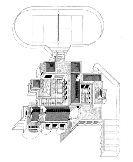 House Hemphill  |  Axonometric