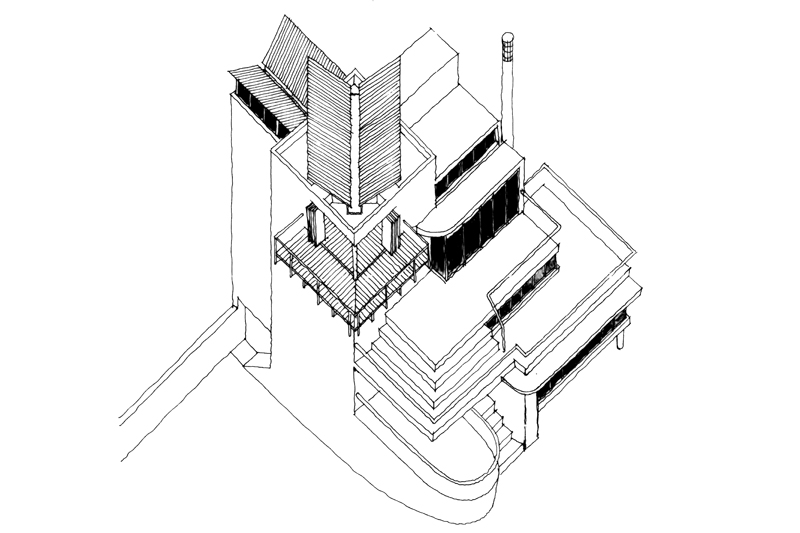 House Fisher  |  Axonometric