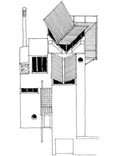 House Fisher  |  Axonometric