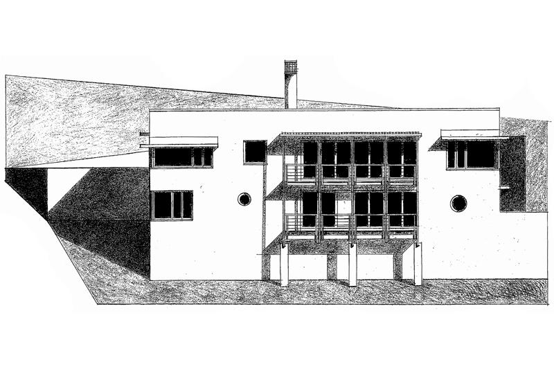 House Goldberg  |  Elevation