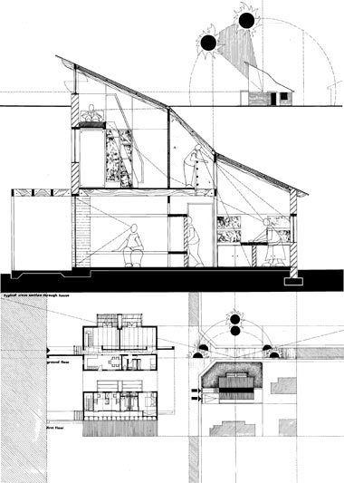 House Moloto  |  Section & Plans