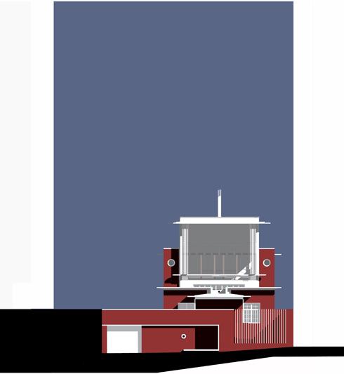House Nicholas  |  Elevation