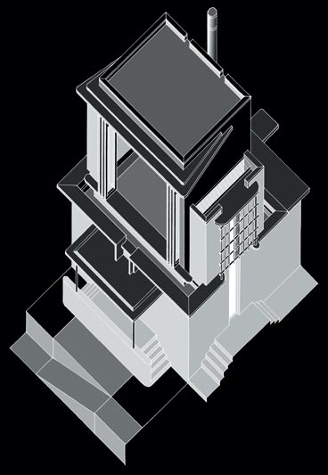House Nicholas  |  Axonometric