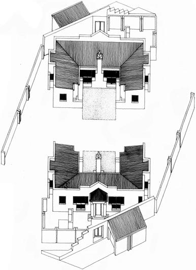 House Nkwe  |  Axonometric