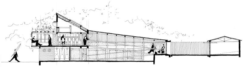 House Van Der Watt  |  Section