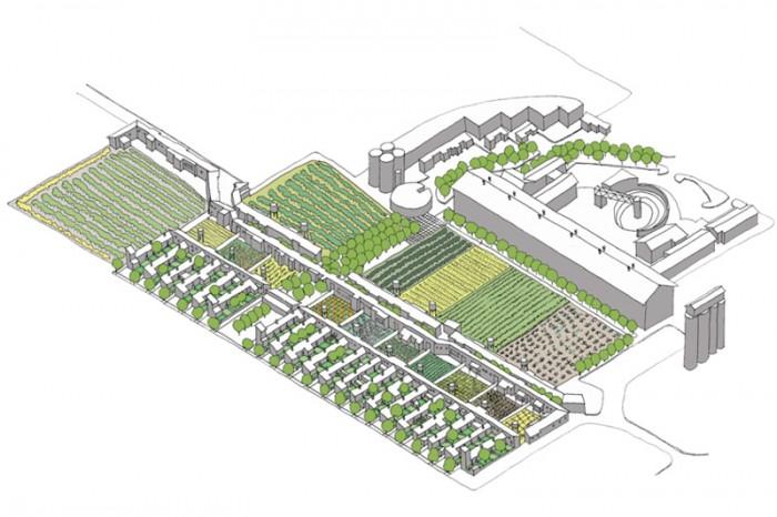Philippi Housing  |  Axonometric