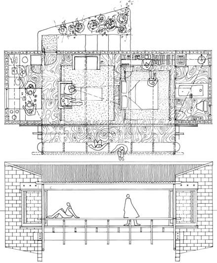 Speculative House  |  Plan & Section