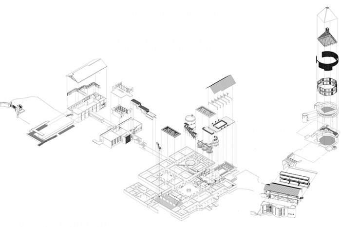 St Cyprians School  |  Exploded Axonometric