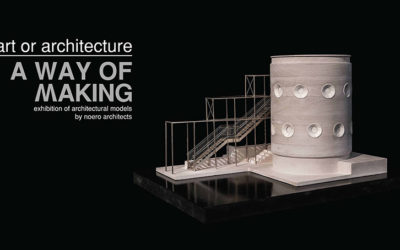 "Exhibition: ""art or architecture – a way of making"" currently open at The Architect pop-up gallery"
