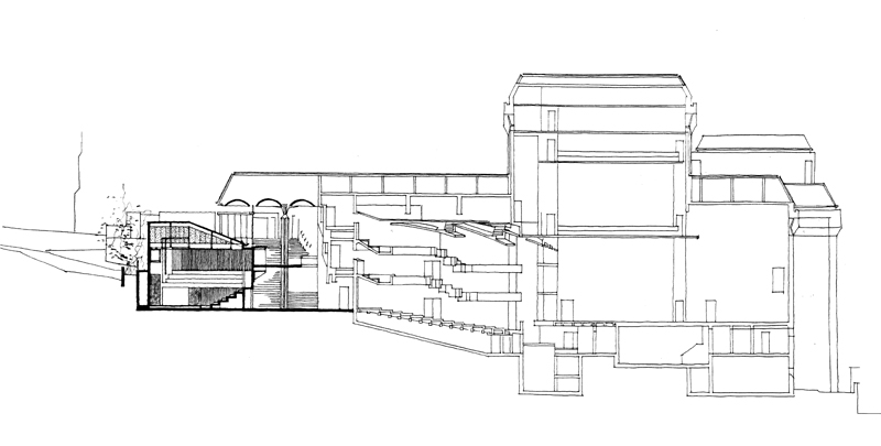 Baxter Theatre (addition)  |  Section