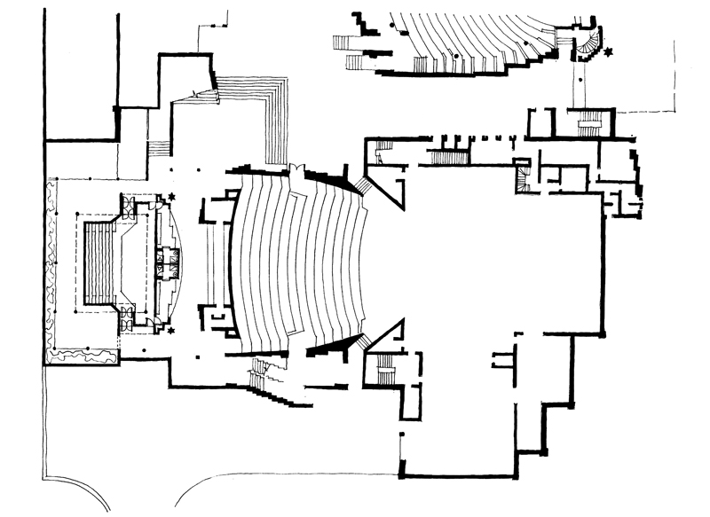 Baxter Theatre (addition)  |  Plan