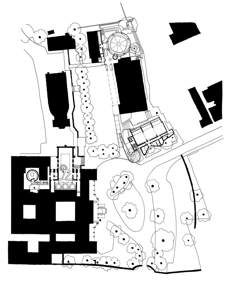 St. Cyprian's School  |  Site Plan