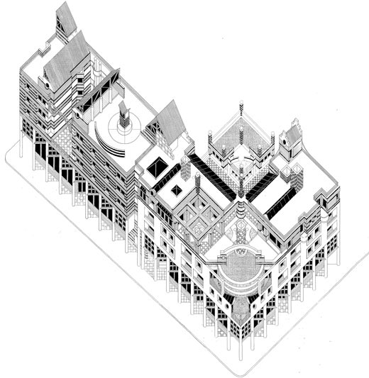 Fordsburg Offices  |  Axonometric